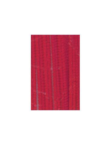 Chenilles rouge 8mm x10