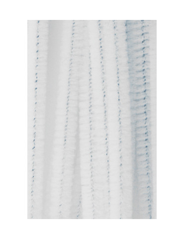 Chenilles blanc 8mm x10