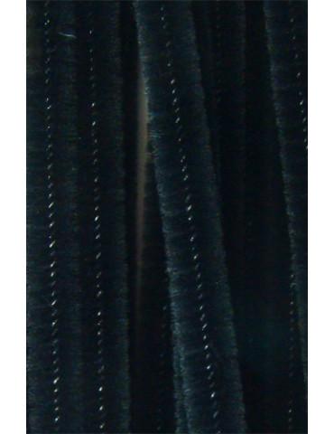 Chenilles noir 8mm x10