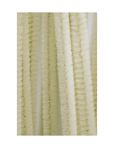 Chenilles beige 8mm x10