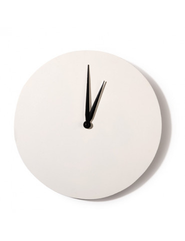 Horloge ronde blanche 30cm