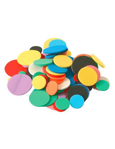 Cercles en mousse - 200 pièces