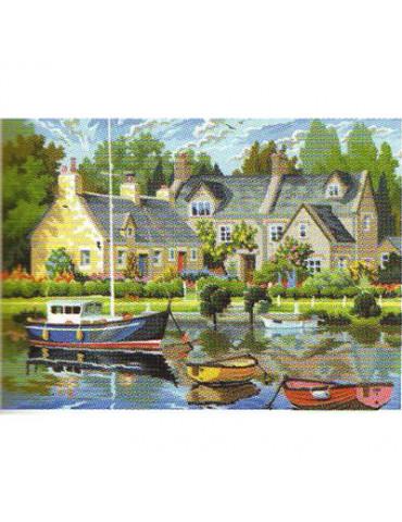 Peinture numéro - Maisons...