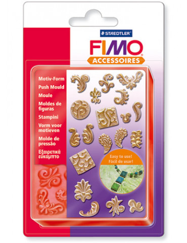 Moule FIMO - Ornements