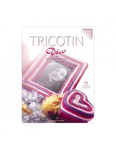 Livre - Tricotin déco et acces. mode