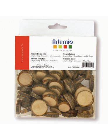 Rondelles de bois 1,5 à 3 cm