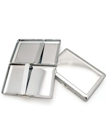 Etui porte-cartes métal à décorer