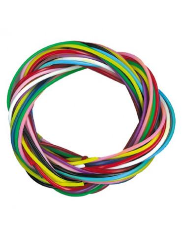 Scoubidous couleurs vives - 250 fils
