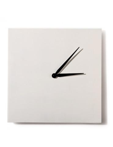 Horloge carrée blanche 30cm
