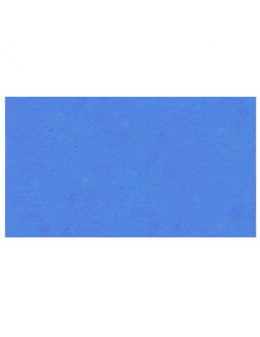 Feutrine adhésive bleue...