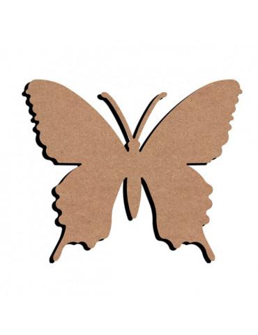 Support bois - Papillon 3 15cm