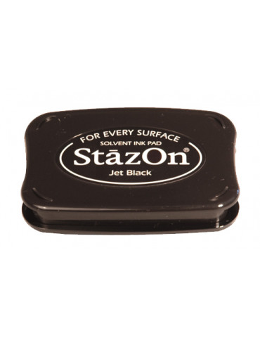 Encreur Stazon Jet black