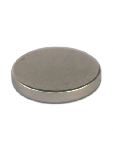 Aimant néodyme 20mm ép.3mm x5