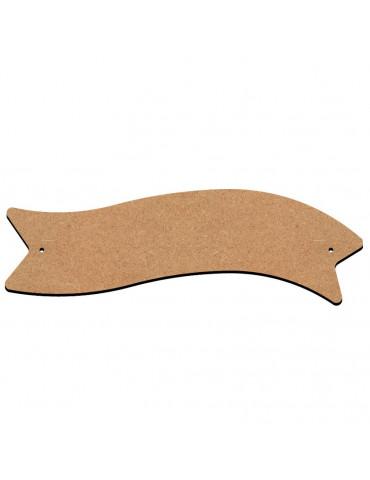 Gomille - Plaque de porte en bois 22x7 cm