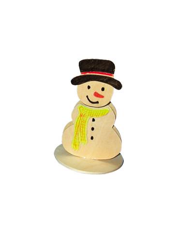 Clip mémo Bonhomme de neige