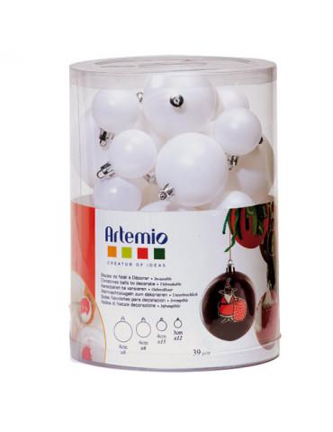 Boules de Noël à décorer x39