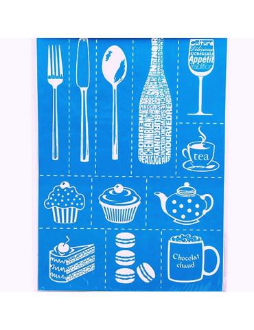 Pochoir Setacolor Art de la table 29,5x20,5cm