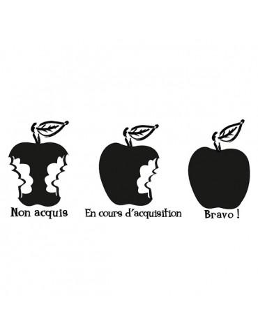 Tampon bois - Appréciations pomme