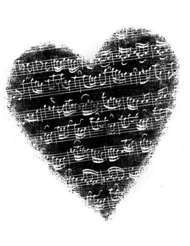 Tampon bois G - Coeur musique