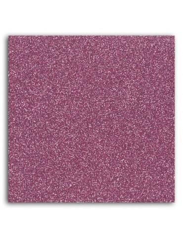 Tissu thermocollant - Glitter rose - Mlle Toga