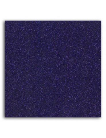 Tissu thermocollant - Glitter violet - Mlle Toga