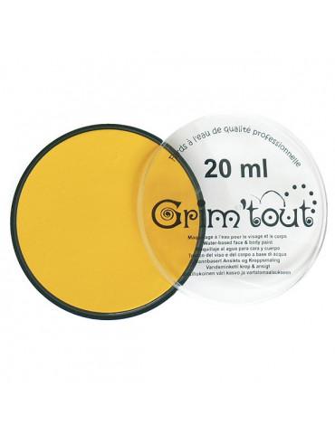 Fard maquillage GRIM'TOUT Jaune soleil 20ml