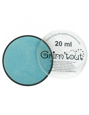 Fard maquillage GRIM'TOUT Bleu nacré 20ml