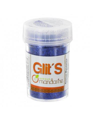 Paillettes Glit's Dark blue 14g - Avenue Mandarine