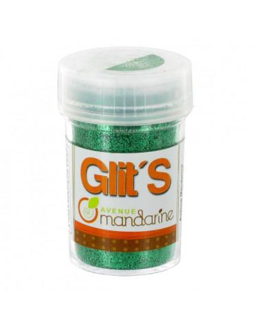 Paillettes Glit's Vert foncé 14g - Avenue Mandarine