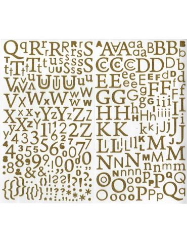 Alphabet autocollant...