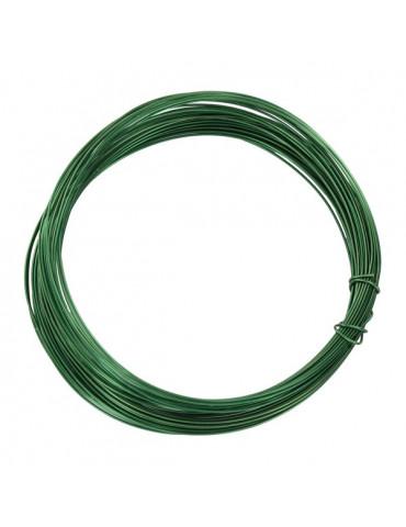 Fil métallique Vert foncé - 0,4mm x10m