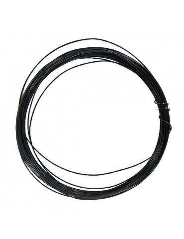 Fil métallique Noir - 0,4mm x10m