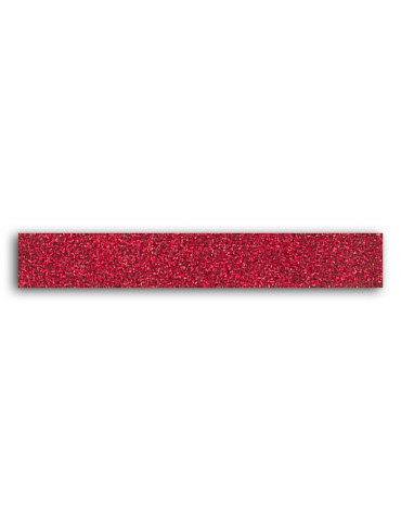 TOGA -  Masking tape Glitter Rouge - 15mm x 2m
