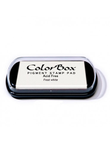 Encreur Colorbox Frost white / Blanc