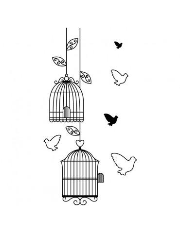 Tampon bois D - Cages Oiseaux