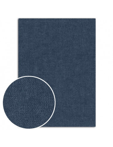 Tissu thermocollant - Jean Bleu clair A5 - Toga