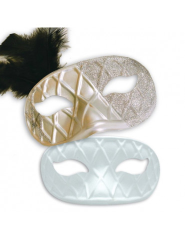 Masque carnaval - Loup Arlequin