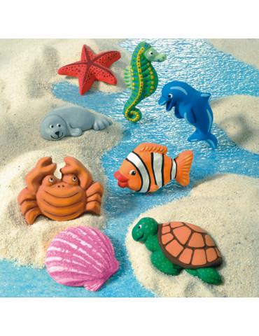 Moule pour FIMO - Sujets mer