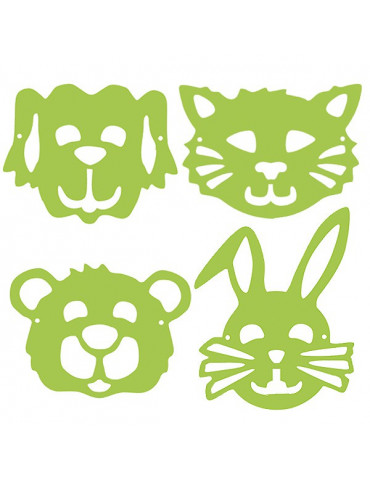 Gabarits masques enfants - Animaux