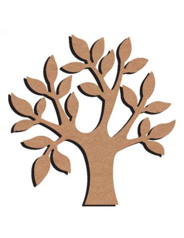 Pommier en bois - 26cm