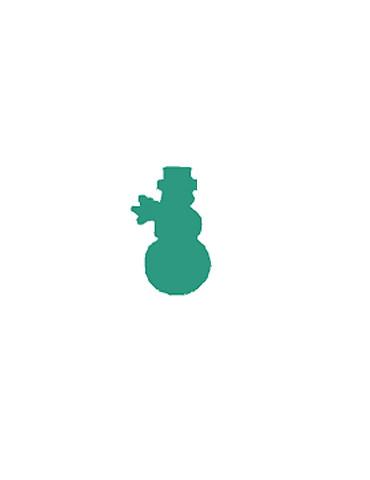 Perforatrice Bonhomme neige...