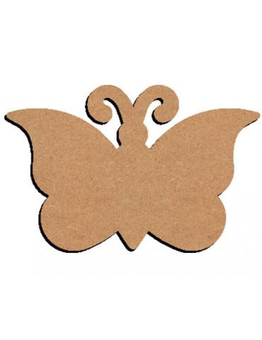 Papillon en bois - 26cm