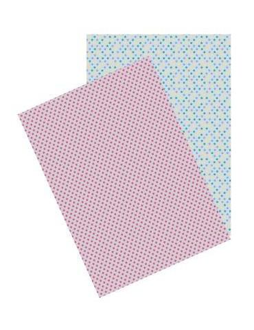 Washi paper - Fleurs Liberty - A4