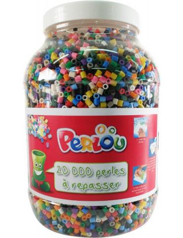 Perlou - 20000 Perles à repasser assorties