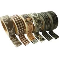 Masking tape - Assortiment Vintage 15mm x6