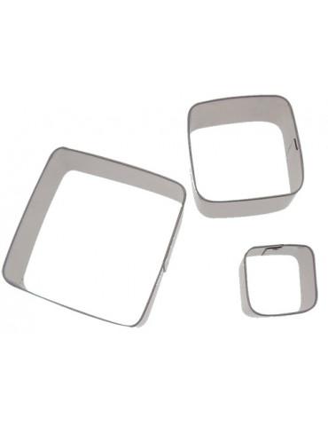 Emporte-pièces métal carré