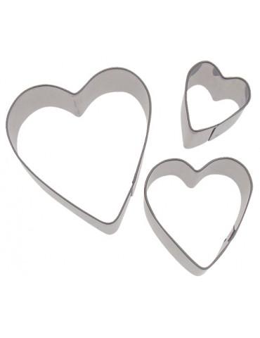 Emporte-pièces métal coeur
