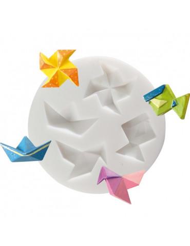 Mini moule silicone - Origami - DTM