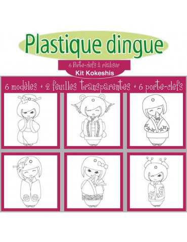KIT Plastique dingue porte...