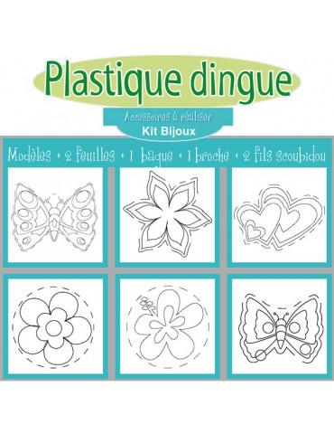 Kit Plastique dingue - Bijoux